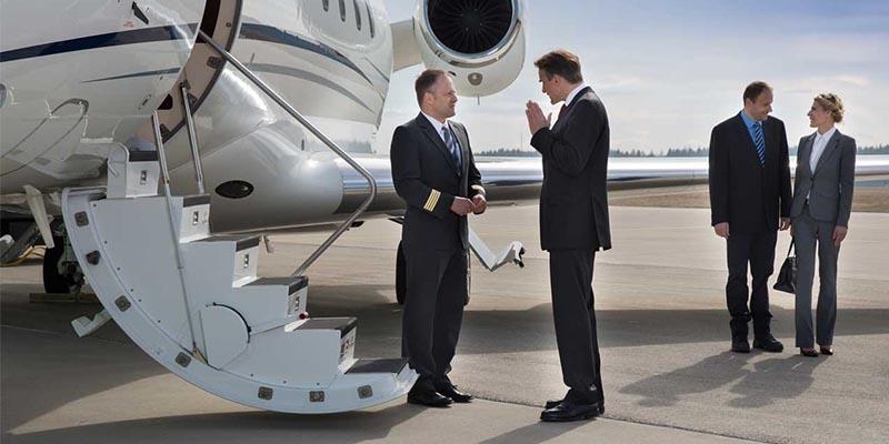 Pilotos executivos na aviação executiva