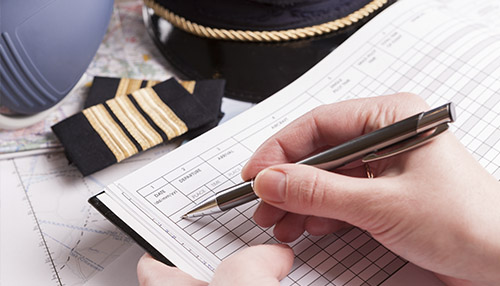 Caderneta de hélice motor celula e diario de bordo de aeronave