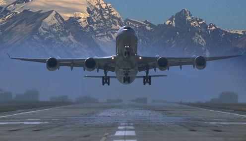 Performance de aeronaves a jato